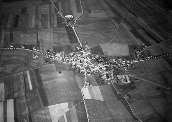 Garching ca. 1910 Richtung Westen