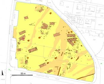 Plan vom Bajuwarendorf