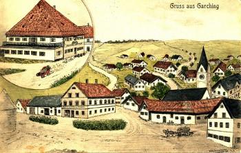Postkarte gelaufen 1914