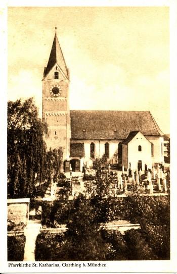 St.  Katharina vor 1950