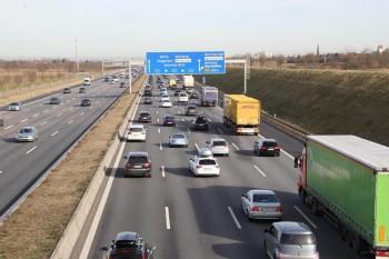 Autobahn Ausfahrt Garching Süd