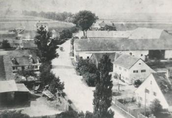 Garching ca. 1919 Sicht nach Süden