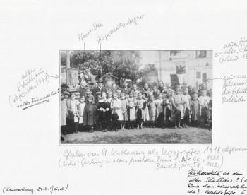 Glockenabnahme St. Katherina 1918