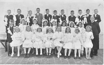 Kommunion in Garching Jahrgang 1939